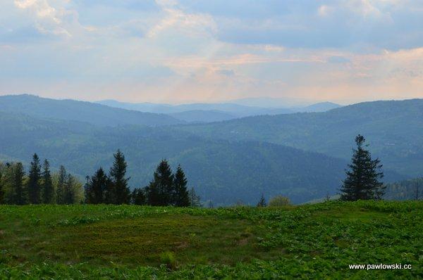 Główny Szlak Beskidzki; schronisko PTTK naPrzysłopie podBaranią Górą - schronisko PTTK naRysiance 6