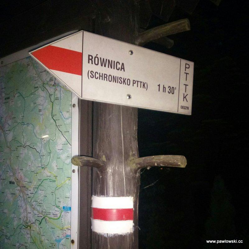 Główny Szlak Beskidzki; Kraków - Ustroń 7