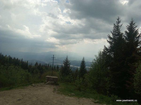 Główny Szlak Beskidzki; Schronisko PTTK naTurbaczu - Krościenko nadDunajcem 7