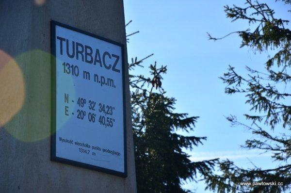 Korona Gór Polski; Gorce - Turbacz 1310 m. n.p.m. 15