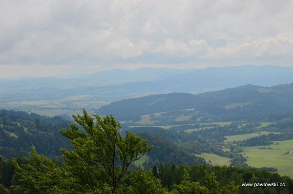 Korona Gór Polski; Pieniny - Wysoka 1050 m. n.p.m. 6