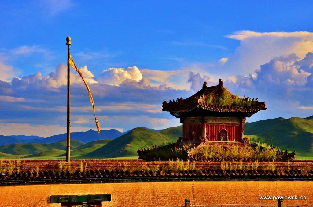 Klasztor buddyjski w Mongolii