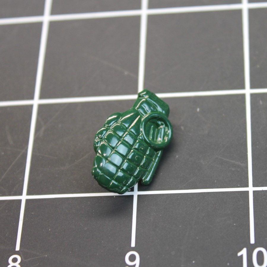 Military Pin-Grenade Green Pineapple Enamel Lapel/Hat Pin 2