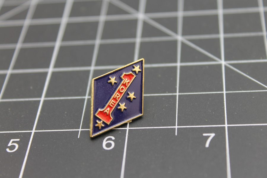 United States Marine Corps Big Red One Korea Lapel Pin Brand-New USMC 1