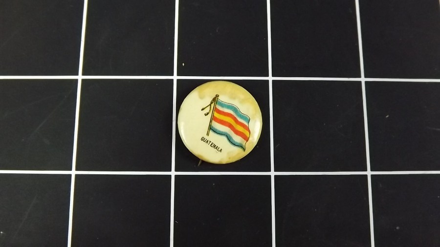 VINTAGE SWEET CORPORAL CIGARETTE GUATEMALA LAPEL PIN BUTTON  Copy 1