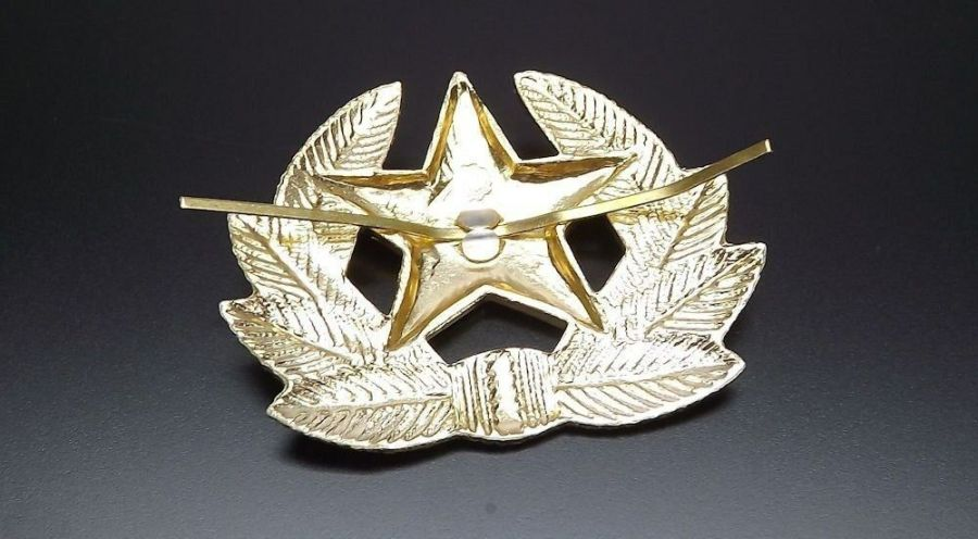 Soviet Russian army military RED STAR hat beret badge SURPLUS NEW CONDITION 4