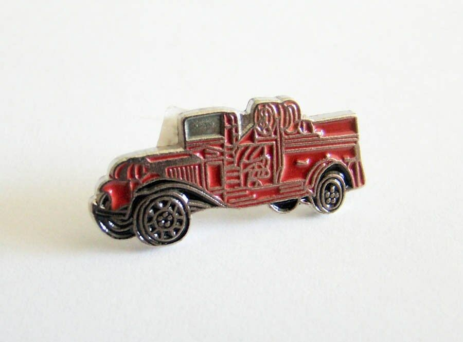 NEW Old Fire Truck Vehicle Lapel Pin NEW 1