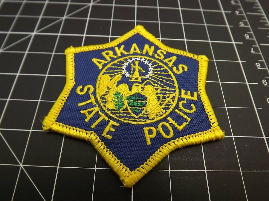"""ARKANSAS STATE POLICE"" PATCH BRAND NEW 1"