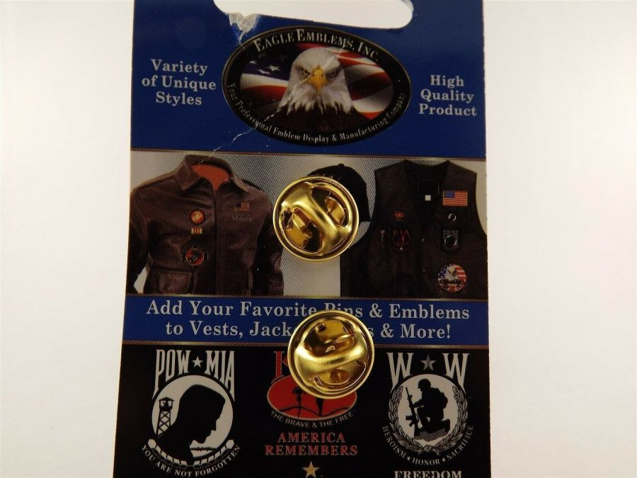 """BRAND NEW Lapel Pin WWII VETERAN A Grateful Nation Remembers Duck Flag 1 1/8"""" 3"""