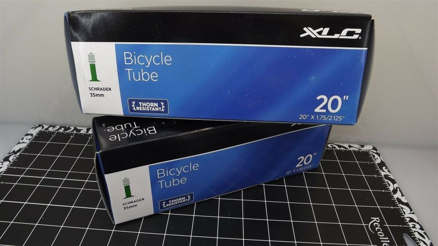 "XLC THORN RESISTANT Boxed 20"" X 1.75/2.125"" SCHRADER INNER TUBE 2-PIECE SET 3"