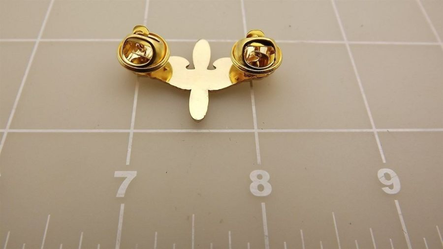 """BRAND NEW Lapel Pin United States Army Aviator Wings Early Prop & Wings 1 3/8"""" 5"""