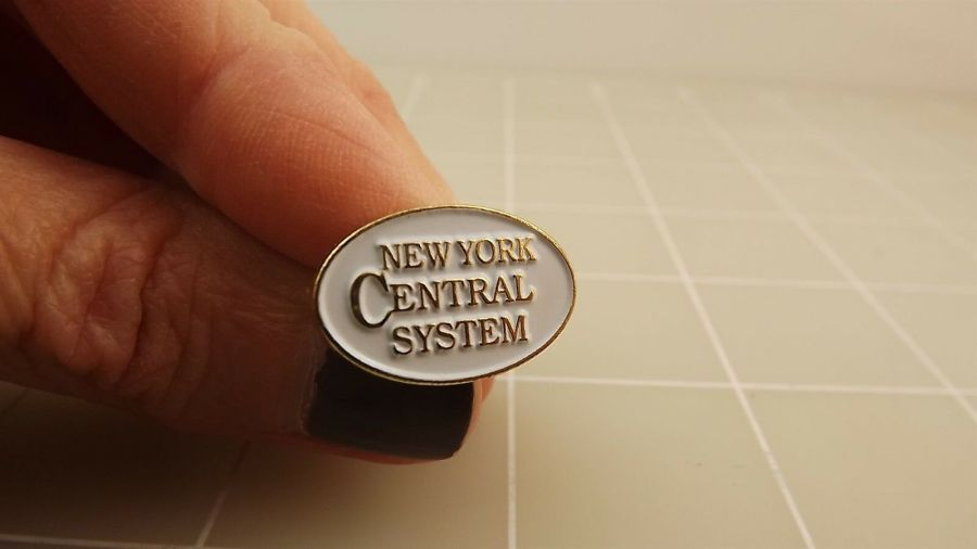 BRAND NEW New York Central System Railroad Enameled Lapel Pin 1