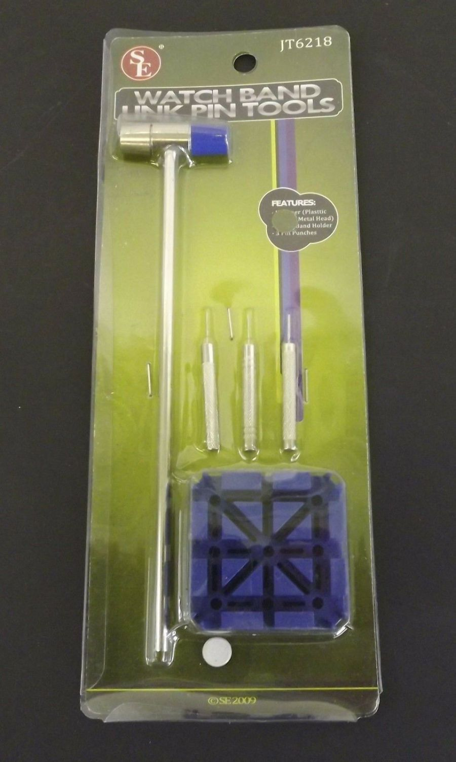 BRAND NEW Watch Band Link Pin Tool Watch Repair Tool 5pc Set SIZE YOUR OWN WATCH 1
