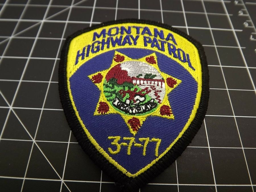 MONTANA HIGHWAY PATROL POLICE PATCH BRAND NEW 1