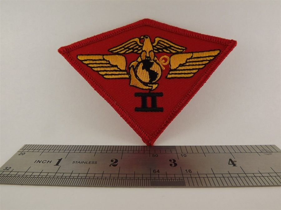 UNITED STATES MARINE USMC 2nd Air Wing Division Iron on Patch BRAND NEW 3