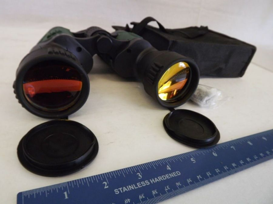 BRAND NEW Binocular 30 X 50MM 30X Magnification 50mm Ruby Coated Lens STRAP CASE 1