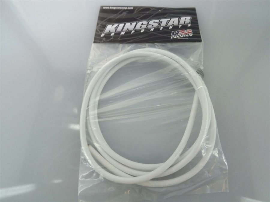 BRAND NEW KINGSTAR COMPONENTS BMX MOUNTAIN BIKE Universal Brake Cable WHITE 1
