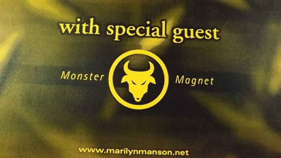 Genuine 1999 MARILYN MANSON & HOLE Live In Concert Poster Cow Palace Flyer Ad 5