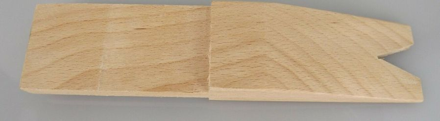 Wooden Pin for Bench Clamp 7-1/2-Inch by 1-1/2-Inch JEWELERS FILING 3