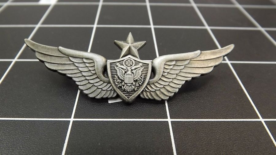 "BRAND NEW Lapel Pin ""Army Aircrew Senior Wing"" PEWTER LIFETIME GUARANTEE 1"