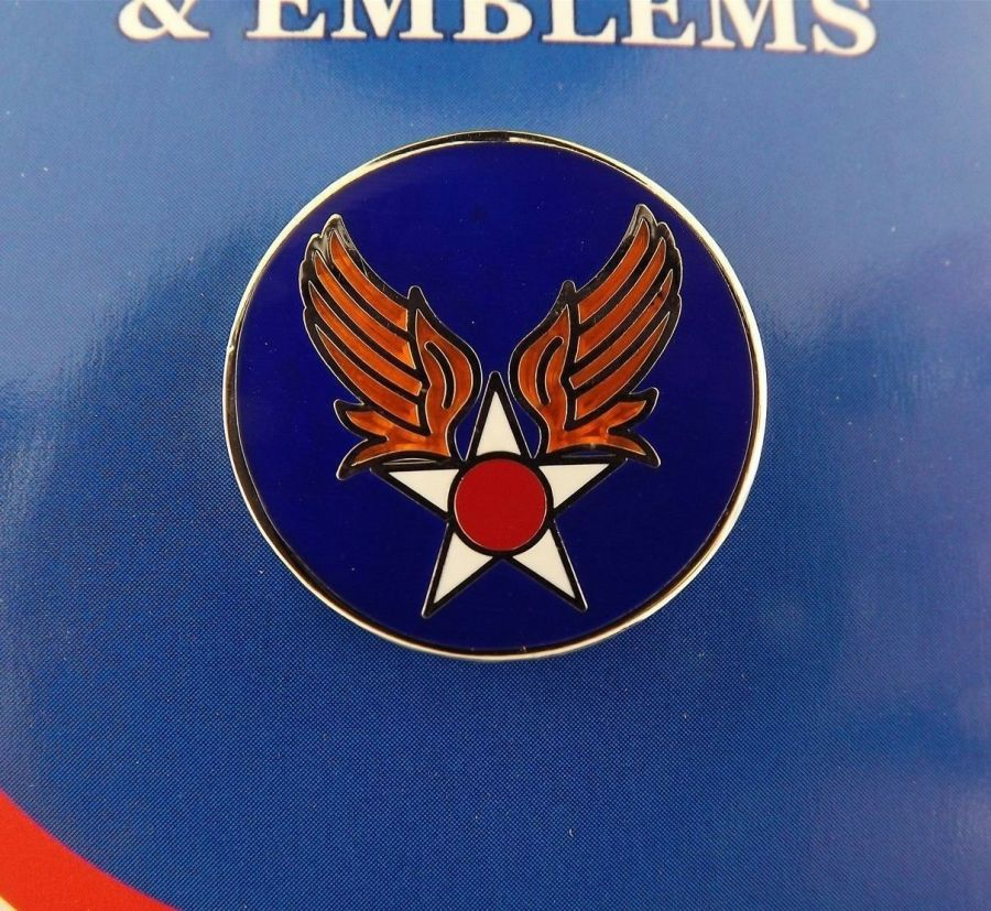 """BRAND NEW Lapel Pin USAF Army Aircorp AAF Blue Enamel 1"""" 1"""
