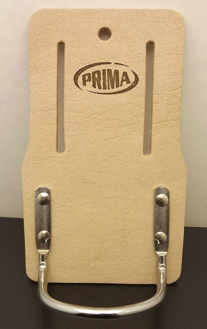 "New PRIMA Belt Mount Hammer Holder Tool Construction Leather FITS 2.5"" WIDE BELT 1"