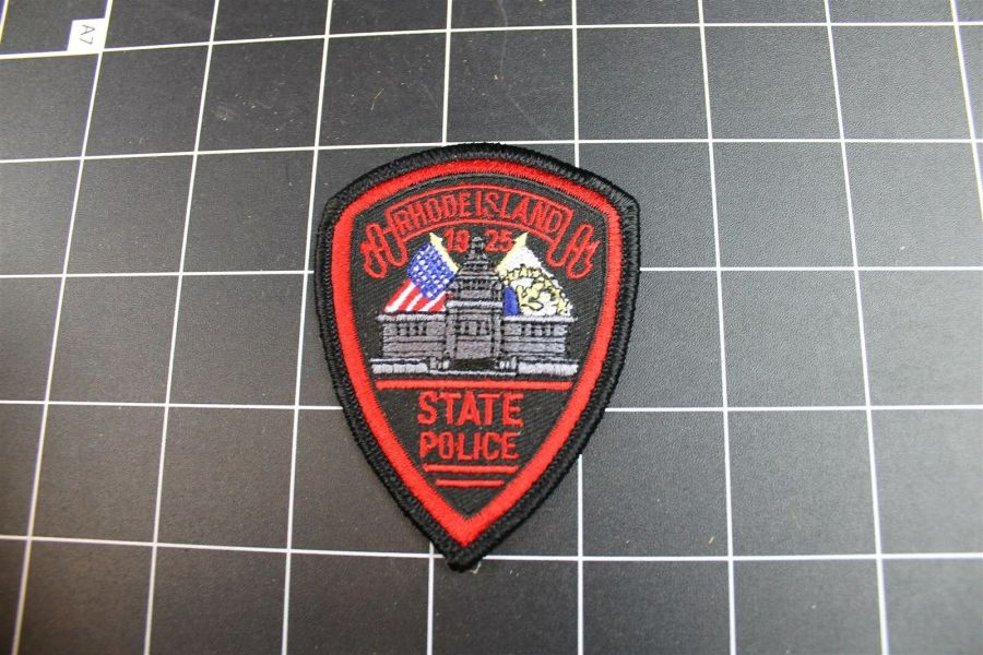 """""""RHODE ISLAND"""" STATE POLICE PATCH BRAND NEW 3"""