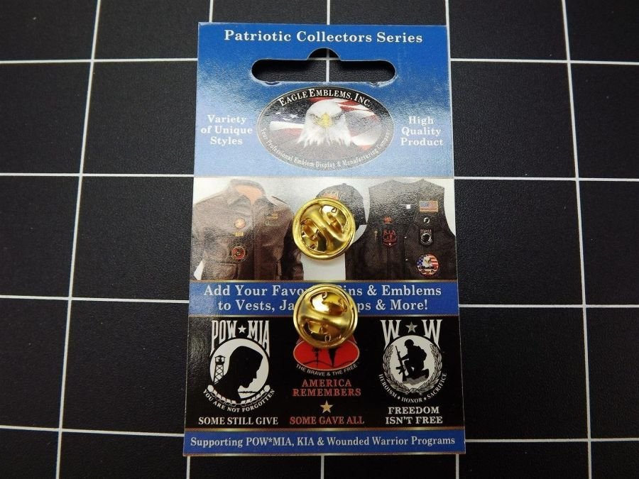 "BRAND NEW Lapel Pin USMC United States Marine Corps With American Flag 1 3/16"" 3"
