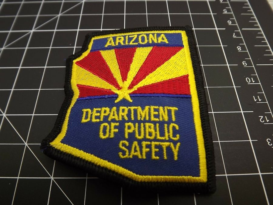 """BRAND NEW ARIZONA DEPARTMENT OF PUBLIC SAFETY POLICE PATCH 3"""" X 2.5"""" 1"""
