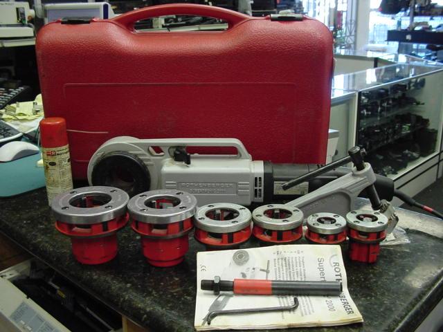 Rothenberger SUPERTRONIC 2000 Portable Power Threader 1/2