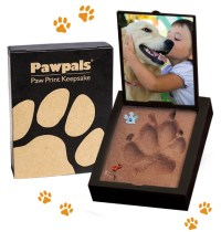Paw Print Mold Kit  No Kneading, Mixing, Baking or Drying