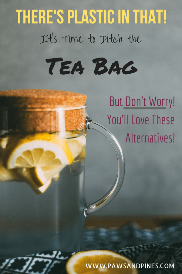 Does your tea bag have plastic in it? Almost every single one has at least 20% plastic so I wouldn't be surprised! Imagine you don't even know that you're steeping plastic in near-boiling water. If you're someone concerned about plastic leaching into your food like I am, this is a serious concern. I've decided to ditch tea bags once and for all. And here are my favorite alternatives. Check them out!