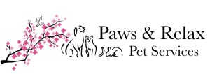 Paws and Relax Pet Services logo