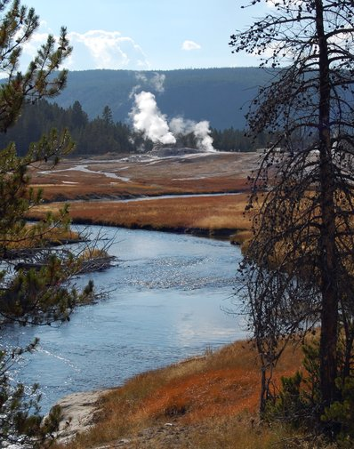 Yellowstone National Park Wyoming