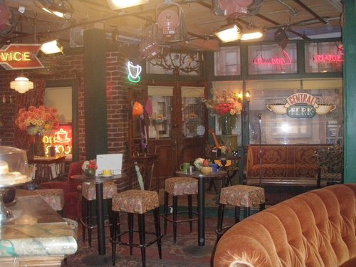 Central Perk from the TV show Friends