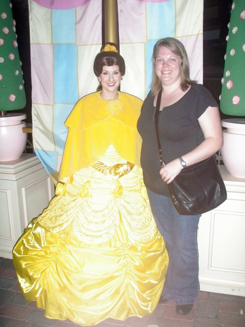 Belle and me.