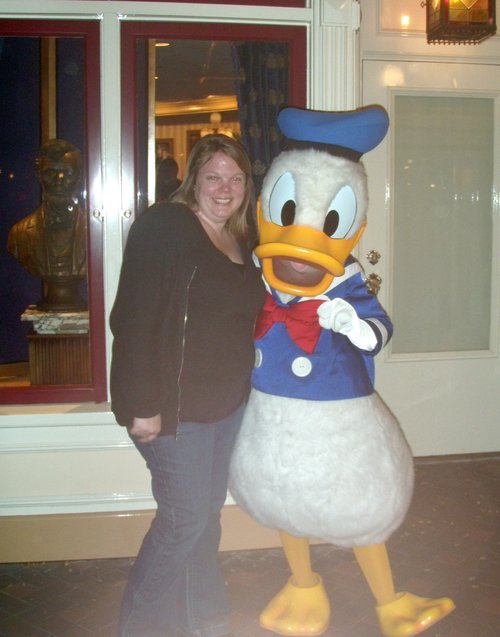 Donald Duck and me