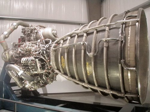 Rocket Engine at the California Science Center