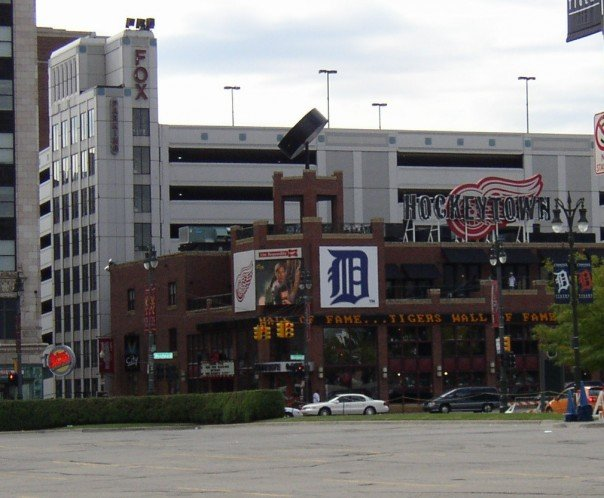 Hockeytown downtown Detroit, Michigan