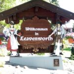 Downtown and The Waterfront Park,  Leavenworth Washington