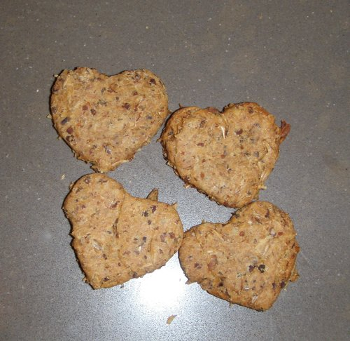 Spent Grain Dog Biscuits