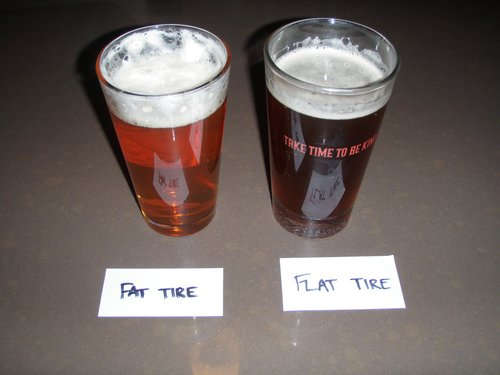 Flat Tire Homebrew Taste Test