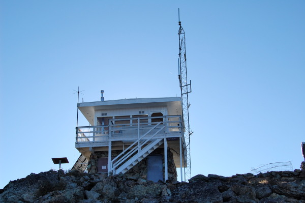 Heavens Gate fire lookout