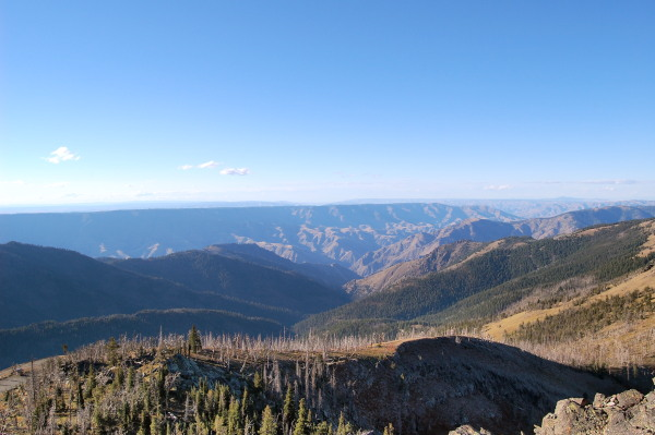 Heavens Gate Hells Canyon