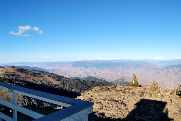Heavens Gate Lookout Tower view