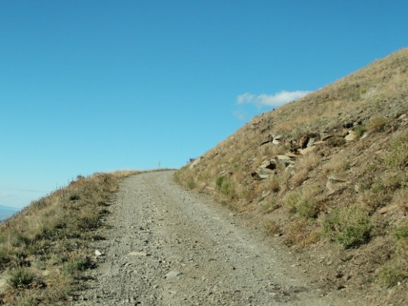 road to Heavens gate Hells Canyon