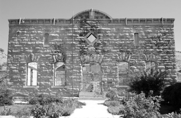 The dining hall at the Old Idaho Penitentiary