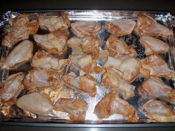 Chili Lime Chicken Wings recipe