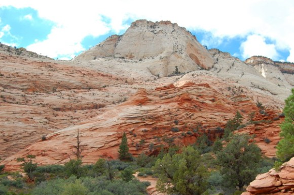 Zion National Park near Coral Pink Sand Dunes