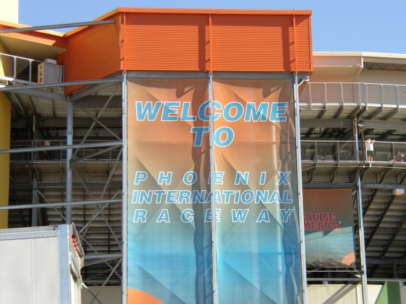 Visiting Phoenix International Raceway